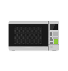 microwave oven equipment vector image