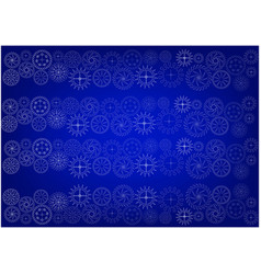 cogwheels on a blue vector image