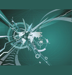 abstract corporate business background vector image vector image