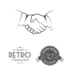 Business Deal ShakeHand vector image