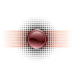 button design vector image