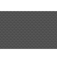 Chinese grey black seamless pattern dragon fish vector image
