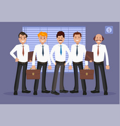 Office staff vector