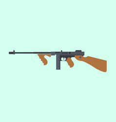 Ordnance carbine usa america submachine gun ww2 vector