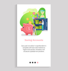 safe and dollars investing online money vector image