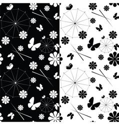seamless jaran parasol pattern vector image