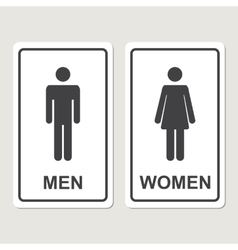 toilet icon vector image