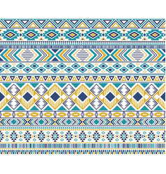 tribal ethnic motifs geometric seamless background vector image