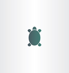 Turtle logo sign element symbol vector