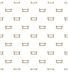 wood rack pattern seamless vector image