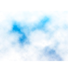 Fluffy cloud detail vector image vector image