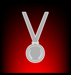 medal simple vector image