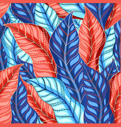 autumn multicolored pattern vector image