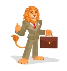 business king vector image