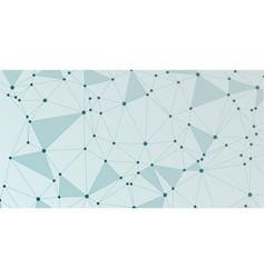 global network connection digital grid vector image
