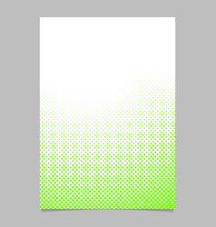 Halftone dot pattern brochure background template vector