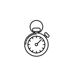 logistics stopwatch signs and symbols can be used vector image