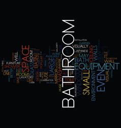 london bathroom fitters bathroom visual vector image