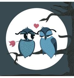 Love birds vector