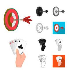 Manipulation by hands cartoonblackflat vector