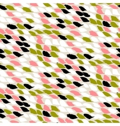 pattern with small brushed dots vector image