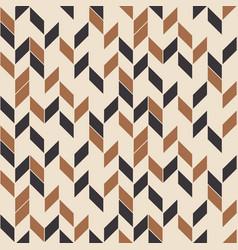 retro seamless pattern random zigzag vector image