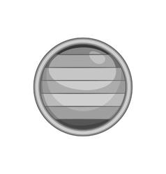 Flag of gay pride button icon vector image