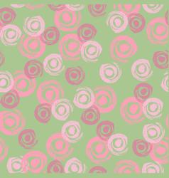 seamless pattern grunge hand draw vector image