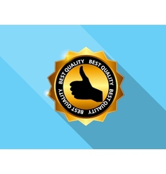 Best Choice Label Icon vector