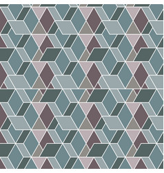 blue and purple background geometric pattern vector image