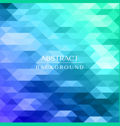 colorful mosaic background creative design vector image