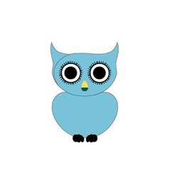 Owl- bird of prey vector