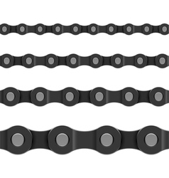 seamless chain vector image