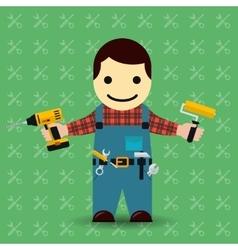Handyman or mechanic vector image