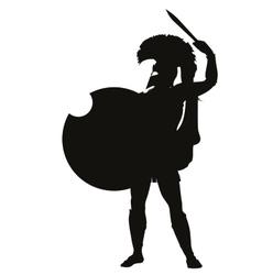 Spartan Warriors Theme vector image vector image