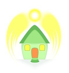 Solar Energy Protection vector image