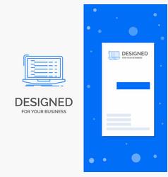 Business logo for api app coding developer laptop vector