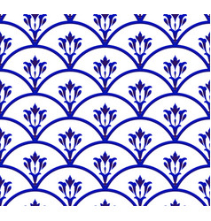 ceramic pattern seamless vector image