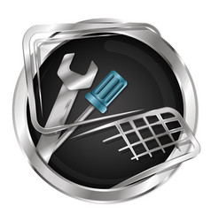 computer repair symbol vector image