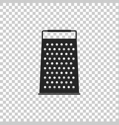 Grater icon isolated kitchen symbol vector
