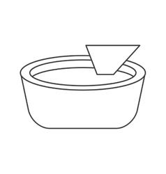 Isolated mexican nacho design vector