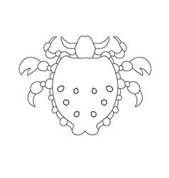 lice2 01 vector image
