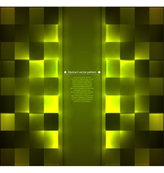 pattern with backlight illumination vector image
