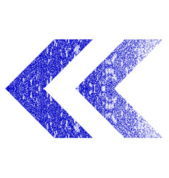 Shift left grunge textured icon vector