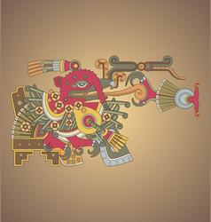 aztec vector image vector image