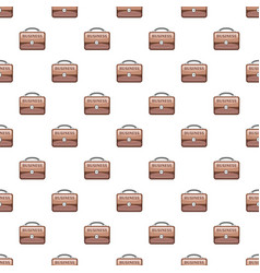 Briefcase pattern vector