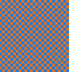 cloth seamless pattern orange and blue vector image vector image