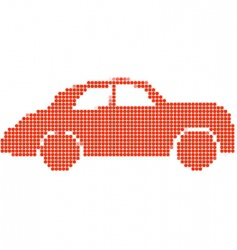 dot style vector image