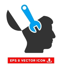 Mind Wrench Surgery Eps Icon vector