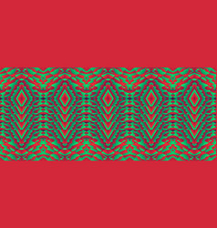 pattern with optical wavy background vector image